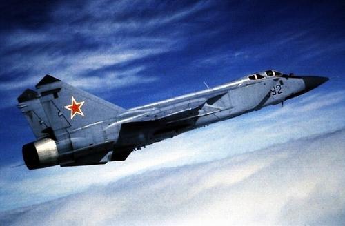 ОКБ им. Микояна МиГ-31 Истребитель-перехватчик