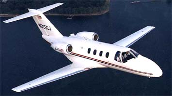 Cessna 525 Citationjet: Административный самолет