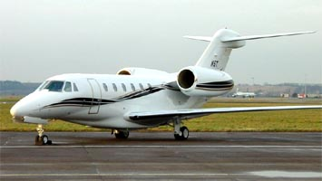 Cessna 750 Citation X: Административный самолет